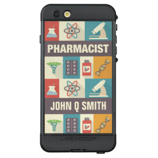 Professional Pharmacist Pictogram•Custom LifeProof NÜÜD iPhone 6s Plus Case