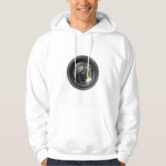 Professional photo lens hoodie