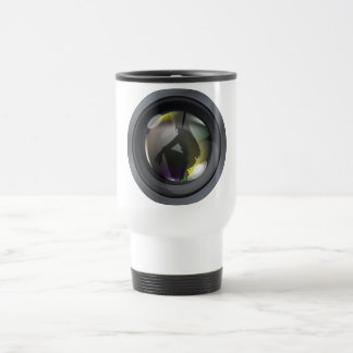 Professional photo lens coffee mug