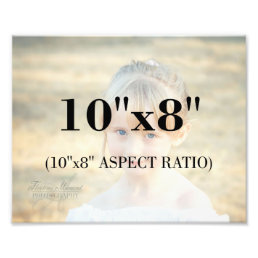 Professional Photo Template 10 x 8 Aspect Ratio