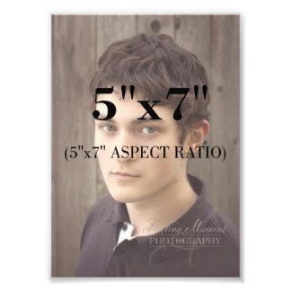Professional Photo Template 5 x 7 Aspect Ratio