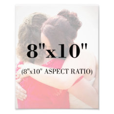 Professional Photo Template 8 X 10 Aspect Ratio at Zazzle