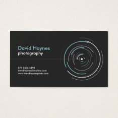 Professional Photographer Business Card at Zazzle