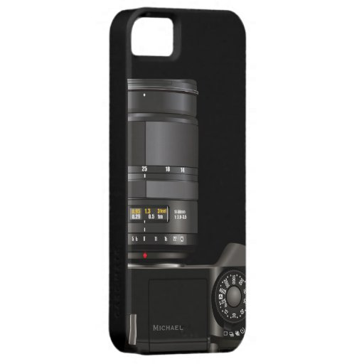 Professional Photographer Camera iPhone 5  Case iPhone 5 Cases