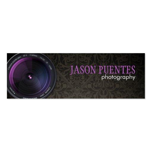 Professional grapher Camera Lens Business Cards