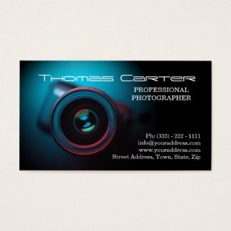 Professional Photographer Digital Photo Card