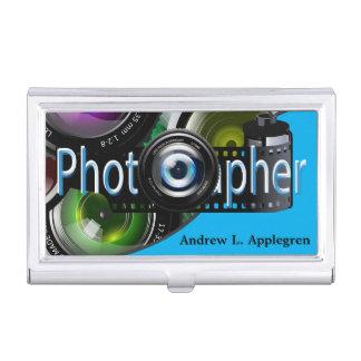 Professional Photographer | Light Blue Business Card Holder