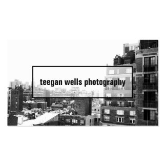 Professional Photographer Photo Card Business Card