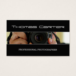 Professional Photographer / Photo Shot Camera Business Card