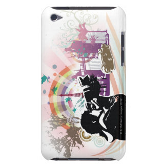 professional photographer shooting urban scene barely there iPod cases