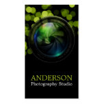 Professional Photographer Vertical Business Card 8