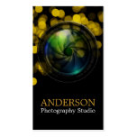 Professional Photographer Vertical Business Card 9