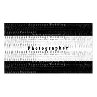Professional Photography Business card - motion
