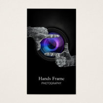 Professional Photography Studio Business Card