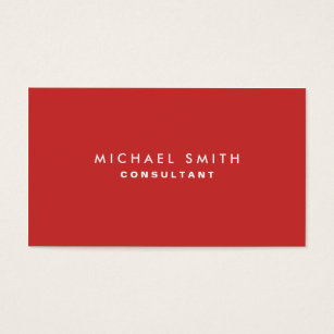 Red business cards templates zazzle professional plain elegant interior decorator red business card colourmoves