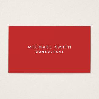 Red Business Cards & Templates | Zazzle