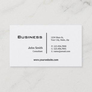 Plain business cards 4900 plain business card templates professional plain elegant modern computer repair business card colourmoves