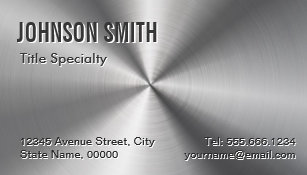 Professional business cards zazzle professional plain sliver radial metallic look business card magnet colourmoves Choice Image