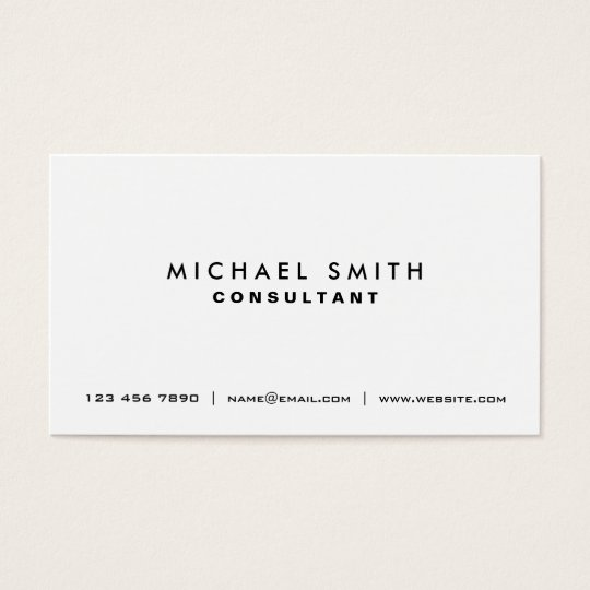 Plain white business card zrom life coach business card templates page3 bizcardstudio wajeb