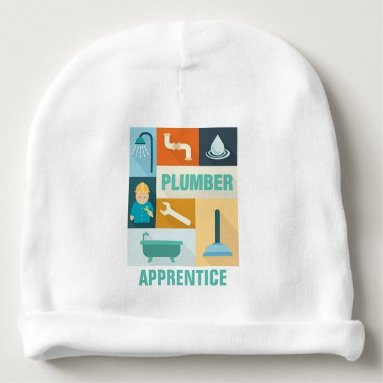 Professional Plumber Iconic Designed Baby Beanie