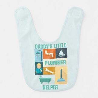 Professional Plumber Iconic Designed Baby Bibs