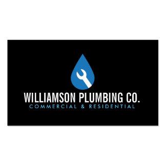 Professional Plumbing Logo II and Business Card