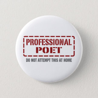 Professional Poet Button