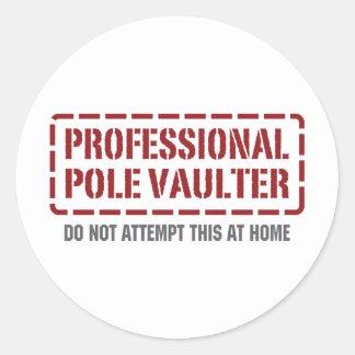 Professional Pole Vaulter Sticker