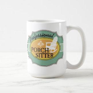 Professional Porch Sitter Logo Coffee Mug