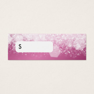 Professional Price Tag Sparkling Night Pink