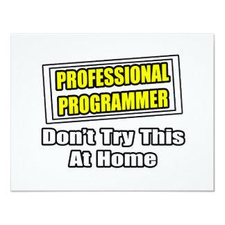 Professional Programmer...Joke Announcement