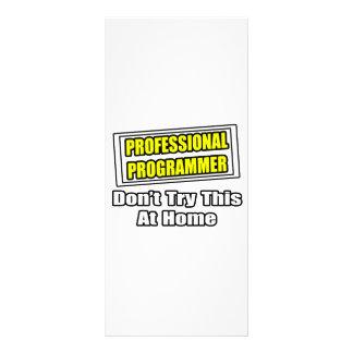 Professional Programmer...Joke Custom Rack Cards