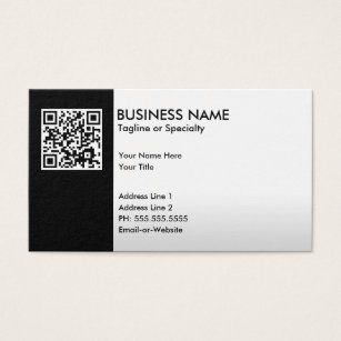 Barcode business cards templates zazzle professional qr code business card colourmoves Gallery