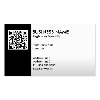 professional QR code Double-Sided Standard Business Cards (Pack Of 100)
