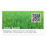 Professional QR Code Photography Business Card