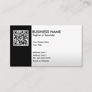 Qr code business cards zazzle professional qr code business card colourmoves