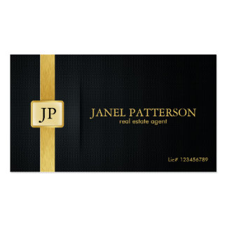 Professional Real Estate Agent - Add your photo Double-Sided Standard Business Cards (Pack Of 100)