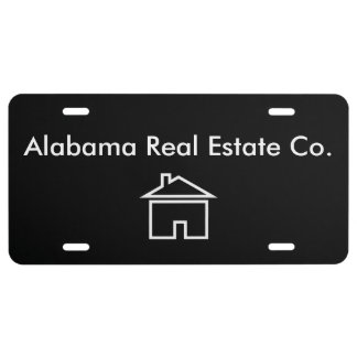 Professional Real Estate License Plate