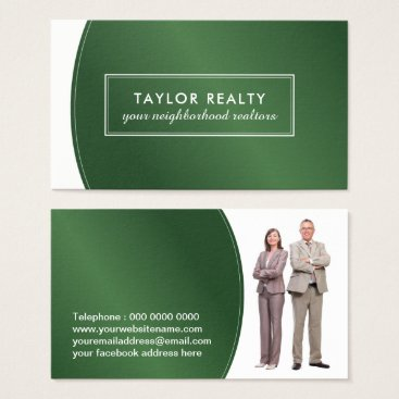 Professional Business Professional Realtor Business Card Template
