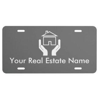Professional Realtor License Plate