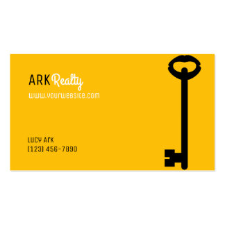 Professional Realtor Real Estate Business Card
