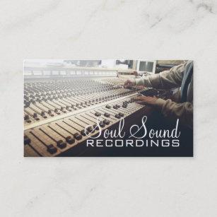 Recording artist recording studio business cards templates zazzle professional recording studio music artists business card colourmoves