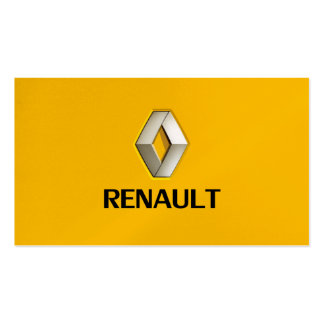professional renault auto car dealer seller card Double-Sided standard business cards (Pack of 100)