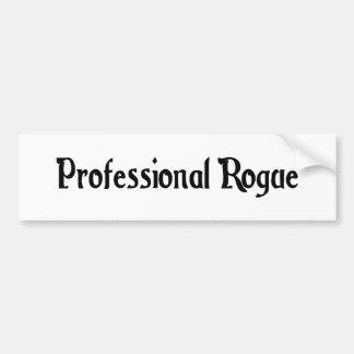 Professional Rogue Bumper Sticker