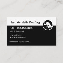 Professional Roofing Services Business Card