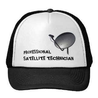 PROFESSIONAL SATELLITE DISH TECHNICIAN TRUCKER HATS