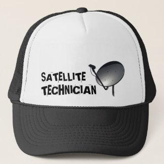 PROFESSIONAL SATELLITE DISH TECHNICIAN TRUCKER HAT