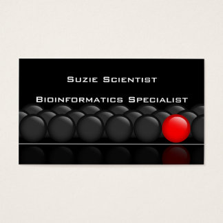 Professional Scientist Science Business Card