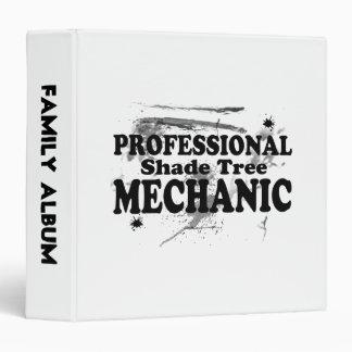 Professional Shade Tree Mechanic 3 Ring Binder