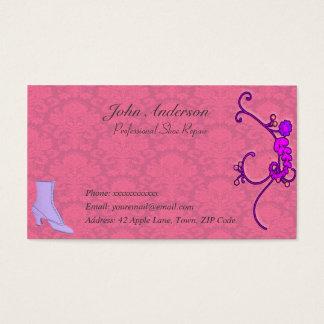 Professional Shoe Repair Business Card